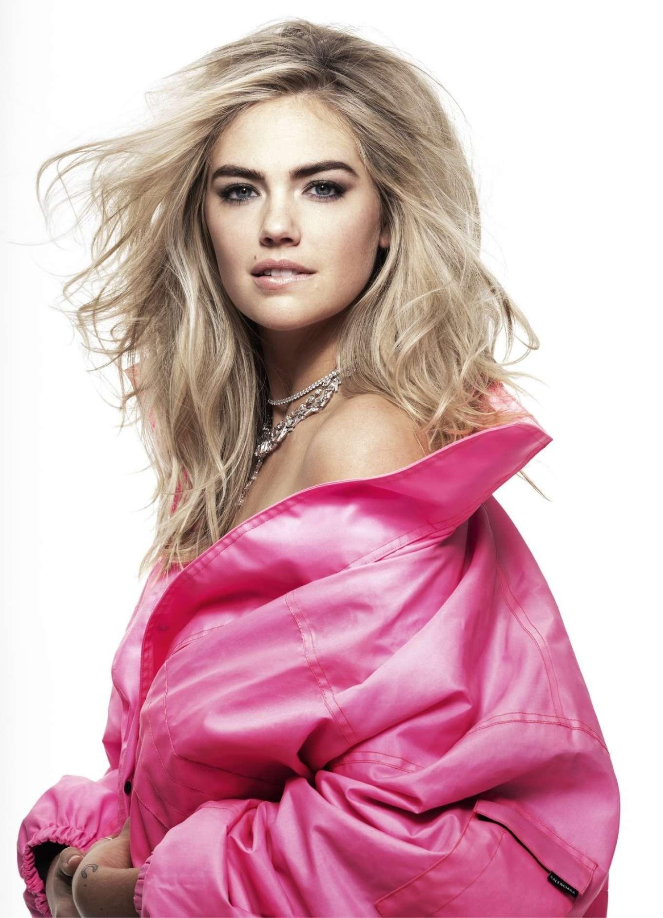 Kate Upton Pink Wallpaper