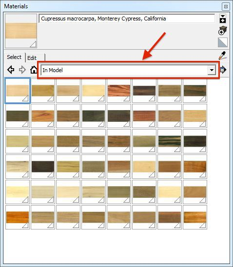 Download Sketchup materials from 3Dwarehouse | The Sketchup Blog