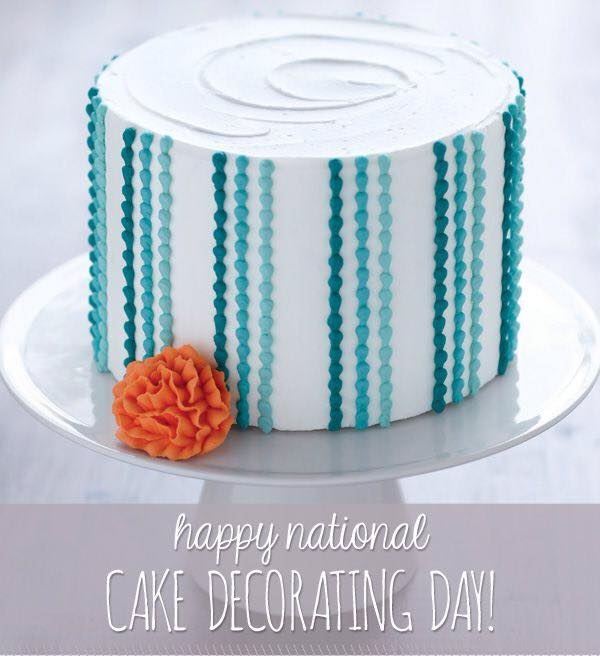 National Cake Decorating Day Wishes pics free download