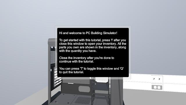 simulasi rakit pc