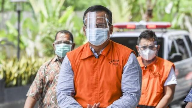 Edhy Prabowo Dicecar KPK Soal Pembelian Barang Mewah di AS Pakai Uang Suap