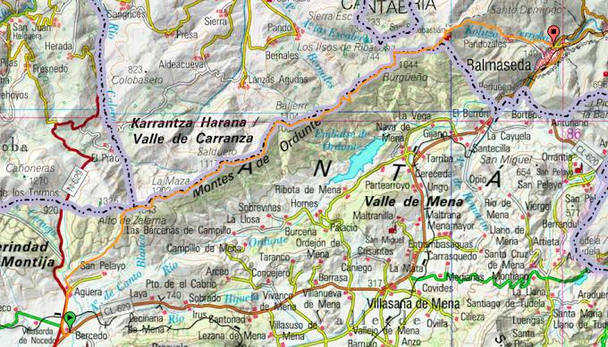 Travesía Integral de la Sierra de Ordunte (Bercedo-Balmaseda)