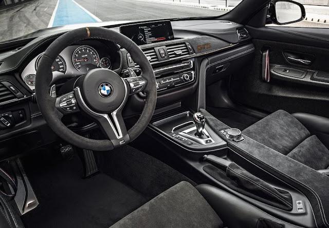 BMW M4 GTS インテリア