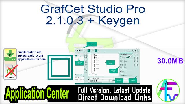 GrafCet Studio Pro 2.1.0.3 + Keygen
