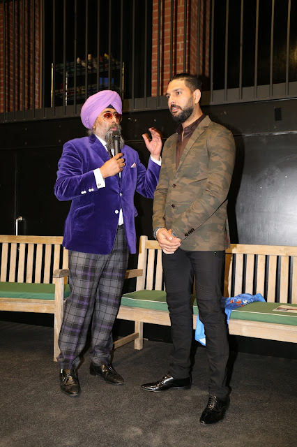 Yuvraj Singh gives motivational talk at London Charity Event
