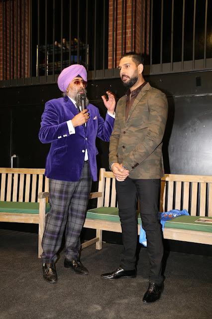 Yuvraj Singh gives motivational talk at London Charity Event