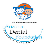 logos for Arizona Dental Foundation and American Dental Foundation