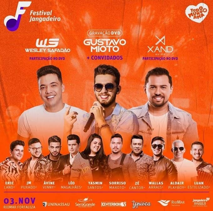Festival Jangadeiro em Fortaleza-PE 03 de Novembro 2019