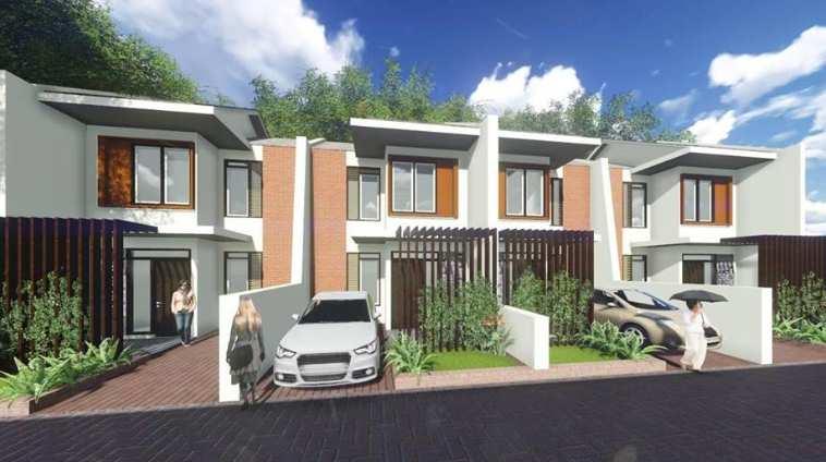 Contoh desain rumah minimalis tampak depan terbaru