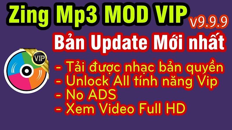 Tải Về Zing Mp3 MOD Vip bản đặc biệt mới nhất » Tải được nhạc bản quyền & Lossless