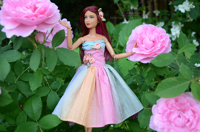 Handmade Barbie dress