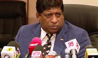 Minister of Finance Ravi Karunanayake