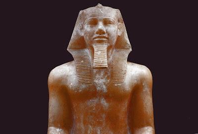 Alabaster statue of Khafra