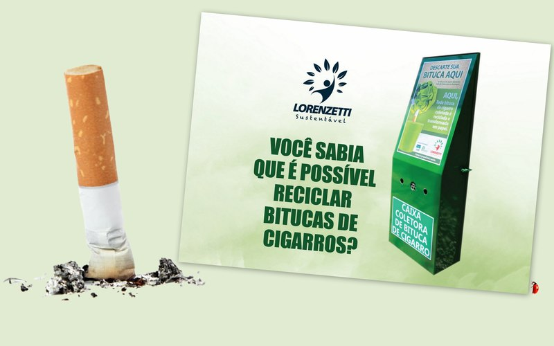 A bituca de cigarro é um resíduo extremamente poluente, com grave impacto ambiental na vida marinha e nos ecossistemas das praias, oceanos e da fauna. É a vilã das calçadas, tornando a cidade suja, além de ser uma das responsáveis pelo entupimento dos bueiros. O descarte indevido também acarreta incêndios, quando o cigarro é lançado pela janela dos carros em ruas e estradas.