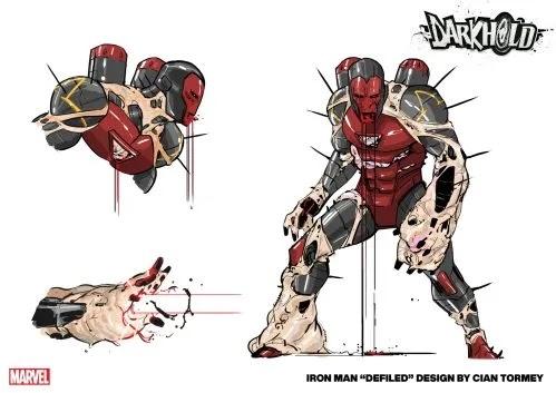 Marvel Comics revela nuevo arte de Darkhold.