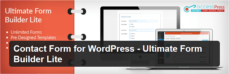 Ultimate form builder lite for WordPress