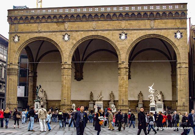 Loggia dei Lanzi, Piazza della Signoria, Florença
