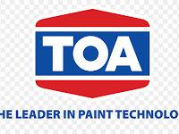 Info Lowongan Kerja HR Admin PT TOA Paint Indonesia Jakarta