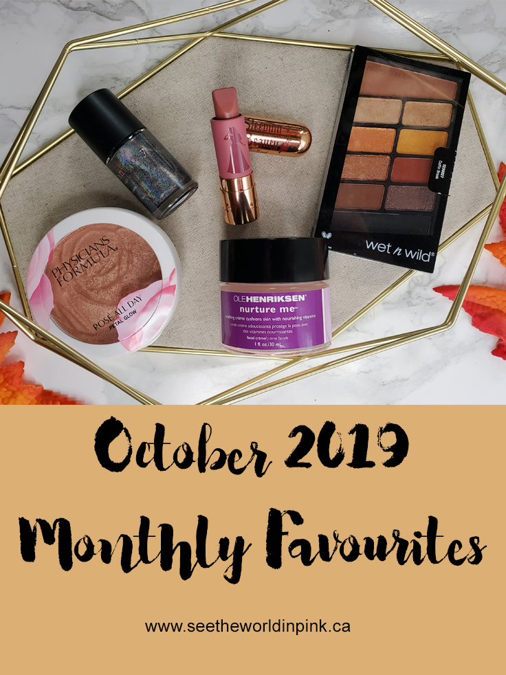 October 2019 - Monthly Favourites!