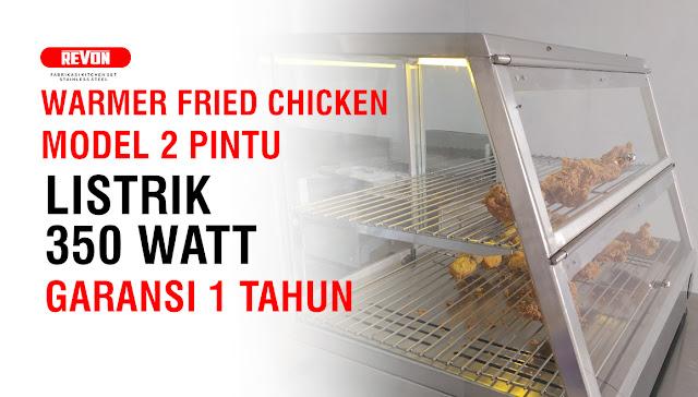 Warmer Ayam Goreng Hemat Listrik
