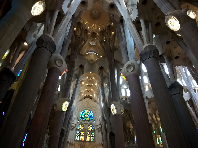 Colonne Interne Sagrada Familia