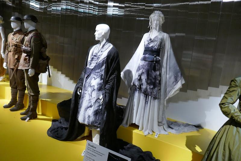 Shadow film costumes