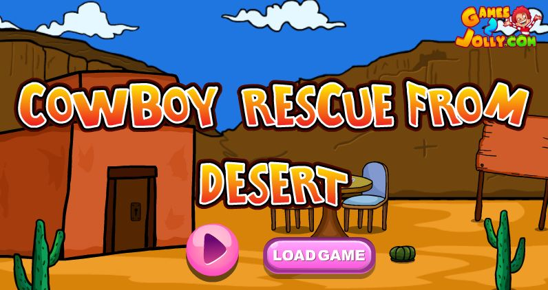 Play Cowboy Rescue From Desert