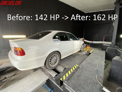 BMW e39 chiptuning