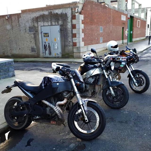 Buell XB12S, Honda CBR900RR Fireblade, Yamaha TDM850