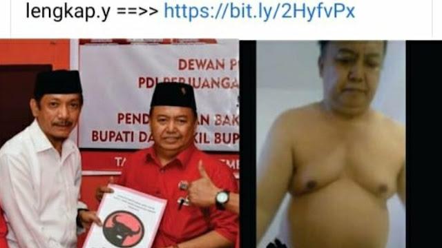 Kemarin Bilang Diedit, Kini Ketua PDIP Pangkep Akui Pemeran Video Wik-wik yang Viral