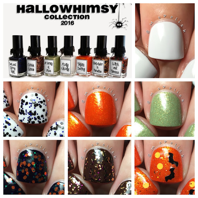 Whimsical Ideas by Pam - The Hallowhimsy Collection 2016 - McPolish
