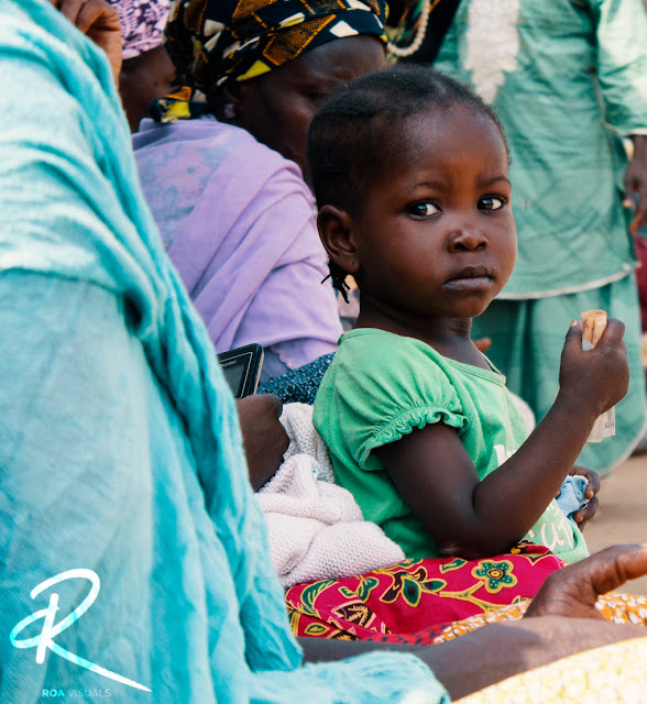 """Meet """"Naroot"""", one of our new friends from our recent trip to an IDP Camp in Abuja, Nigeria."""