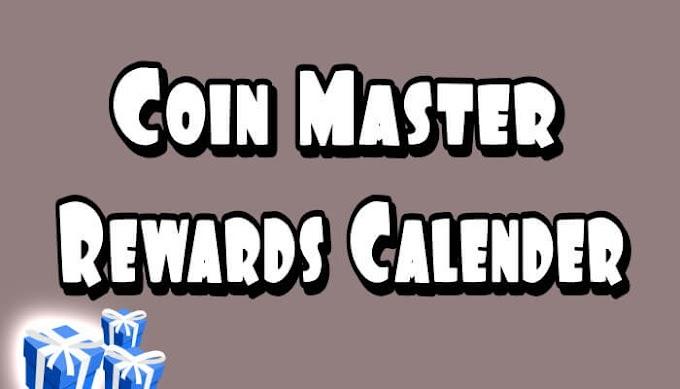 Coin Master Rewards Calendar -  Daily Spins Reward Update