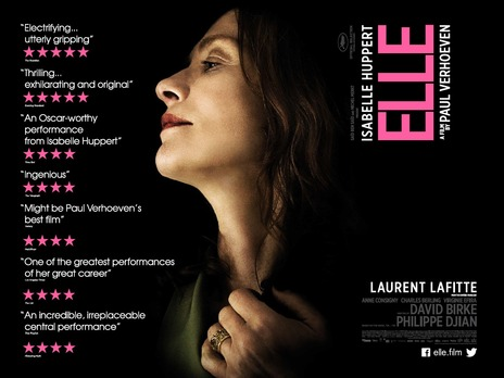 Elle 2016 Movie Isabelle Huppert Paul Verhoeven