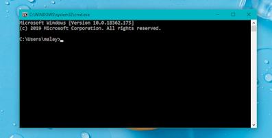 Basic Windows Commands