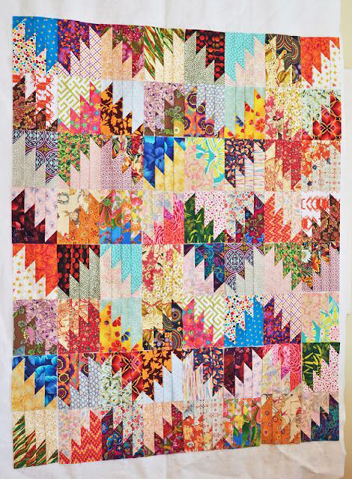 Scrappy Mountain Majesties Quilt Pattern