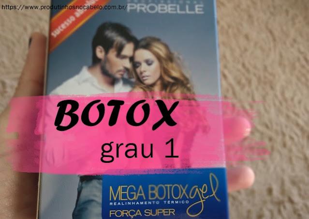 Mega Botox Gel embalagem