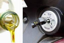 Cara Mengatasi Kunci Kontak Motor Macet Minyak Goreng Jadi Solusi Tepat