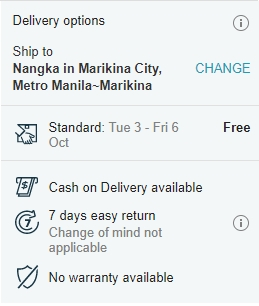 how to order in lazada philippines cash on delivery