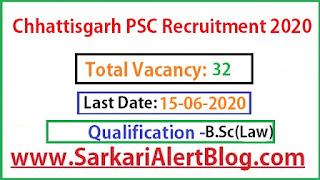 https://www.sarkarialertblog.com/2020/06/chhattisgarh-cgpsc-civil-judge.html