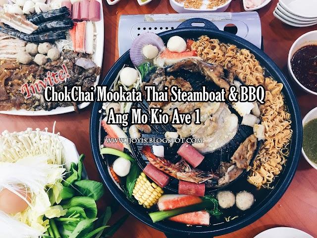 Food: ChokChai Mookata, Ang Mo Kio Ave 1
