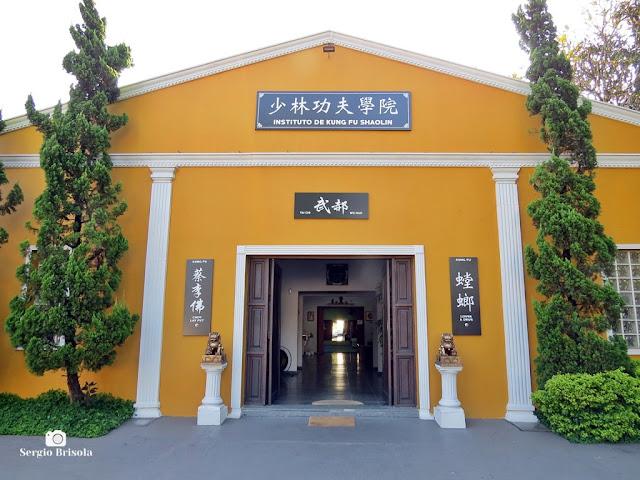 Vista ampla do Instituto de Kung Fu Shaolin - Butantã - São Paulo