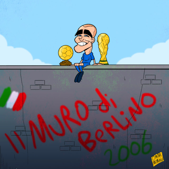 Fabio Cannavaro cartoon