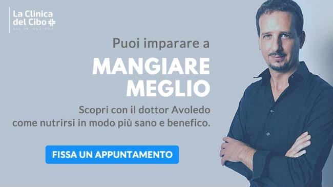 Resta in salute con i consigli dietetici del dr. Luca Avoledo