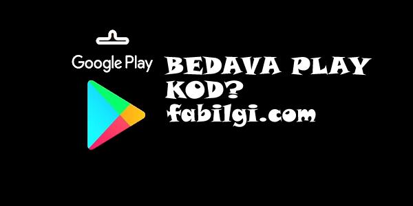 Bedava Google Play Oyun Kodu Alma Hilesi GiftCode Uygulaması