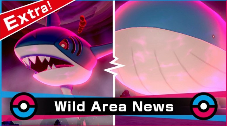 Pokémon Sword e Shield Evento Wild Area