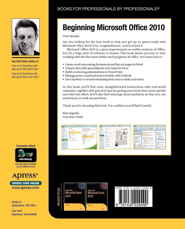 [Free ebook]Beginning Microsoft Office 2010 - EBOOK VBA EXCEL