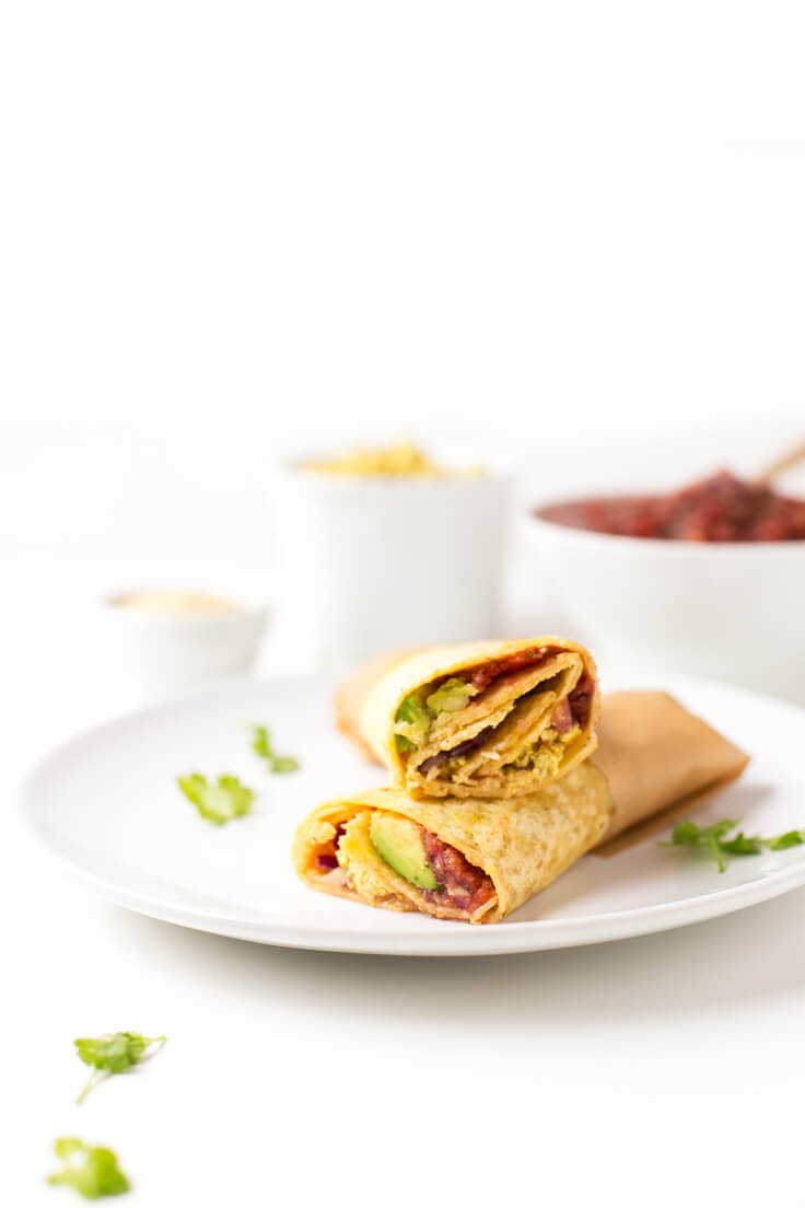Vegan burritos - when you give the first bite to these vegan burritos, you feel an explosion of flavour in your mouth. You can throw almost any ingredient.