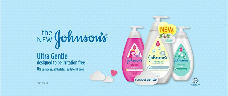 JOHNSON'S® memperkenalkan Produk Rangkaian Bayi Terbaharu Yang Lebih Lembut