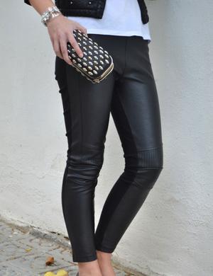 4 maneras de llevar...leggins de polipiel